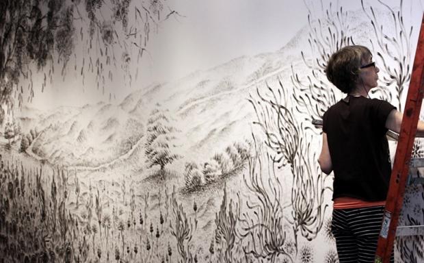Judith ann Braun – sztuka palcami malowana