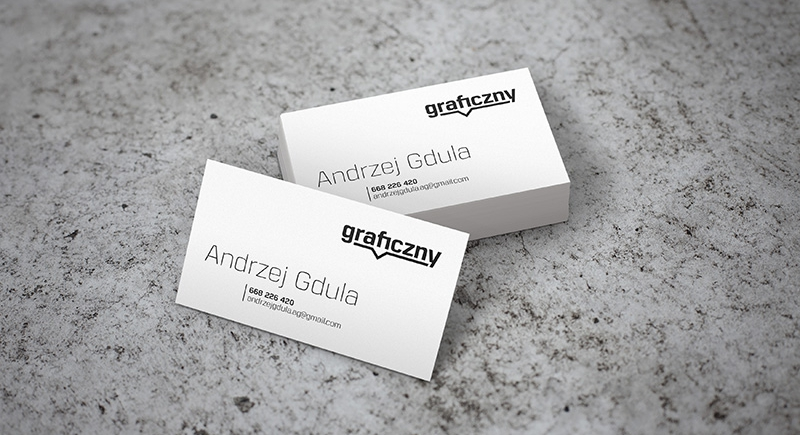 Mock-up – wizytówki / business cards