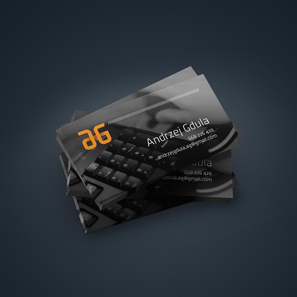Mock-up – wizytówka 90 x 50 mm
