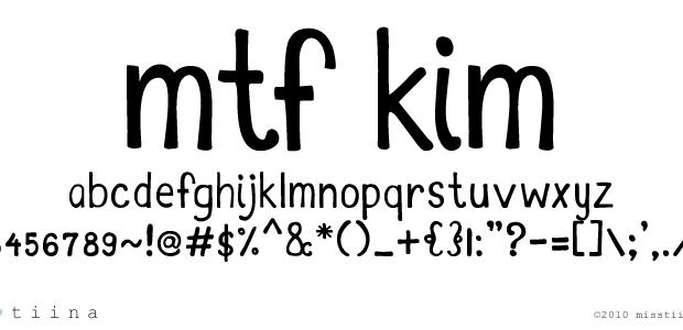 Darmowe fonty, pisanki od Miss Tiina