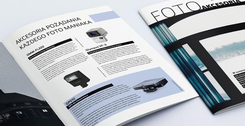 Mock-up – katalog / folder – A4