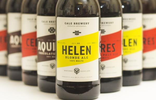 Etykiety piwa Cale Brewery