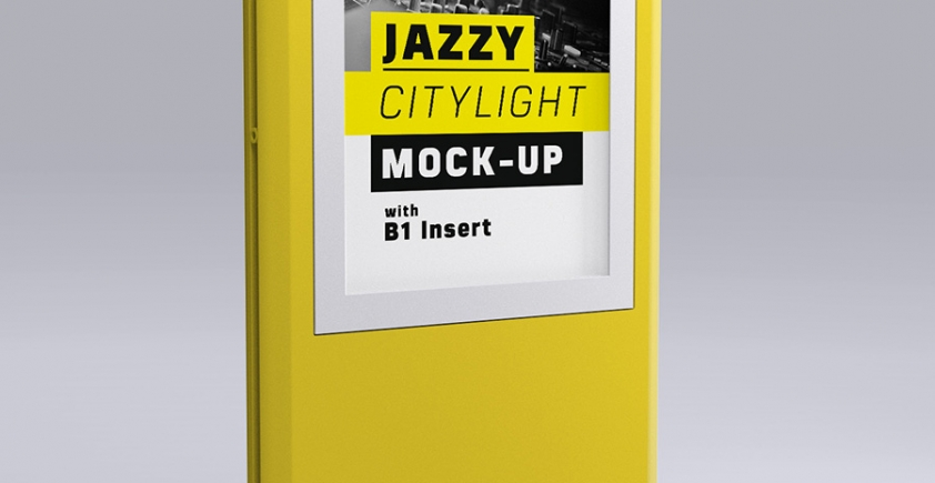 Mock-up – Citylight – B1