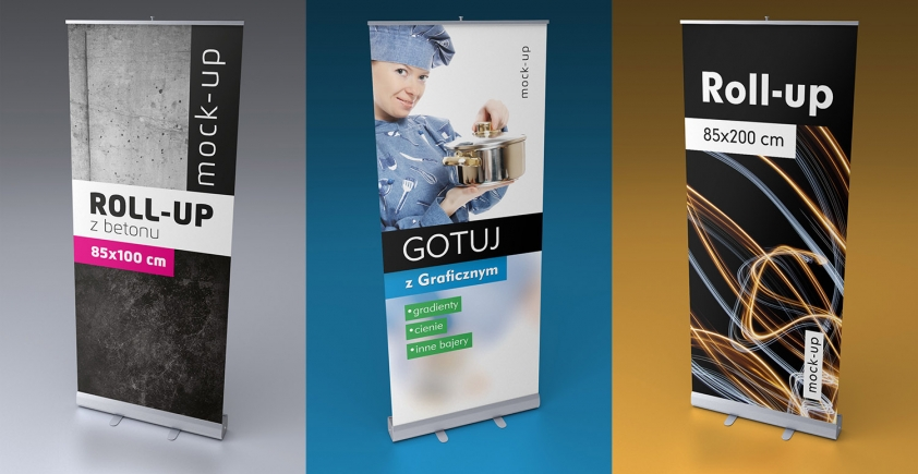 Mock-up – roll-up – 85×200 cm