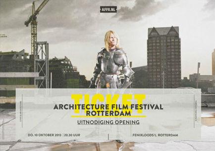 Identyfikacja festiwalu filmowego – AFFR.NL