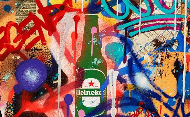 Legendarne plakaty Heinekena
