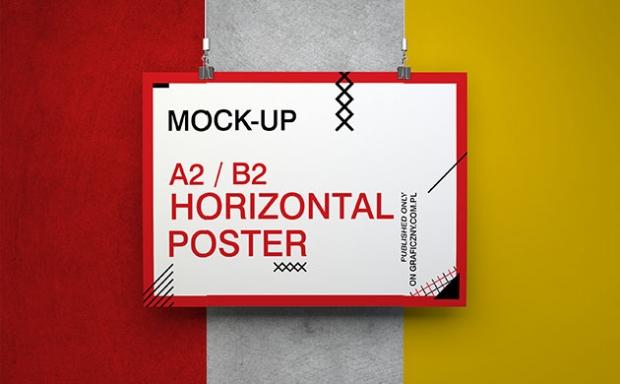 Mock-up – Zestaw plakatów / Poster Set