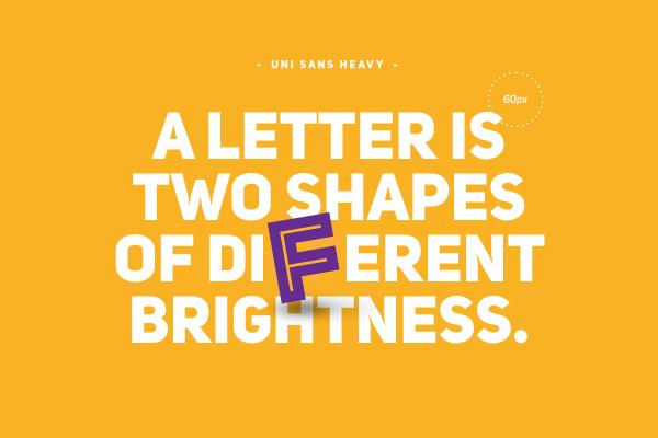 Uni Sans Free – sensowny, darmowy font