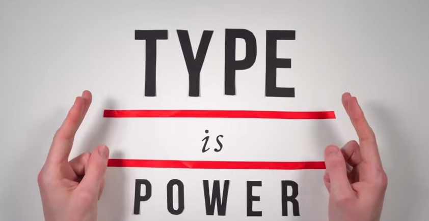Animowana historia typografii
