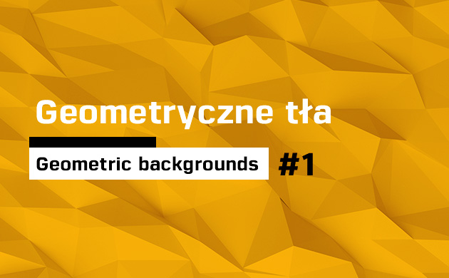 Geometryczne tła / Geometric backgrounds / #1