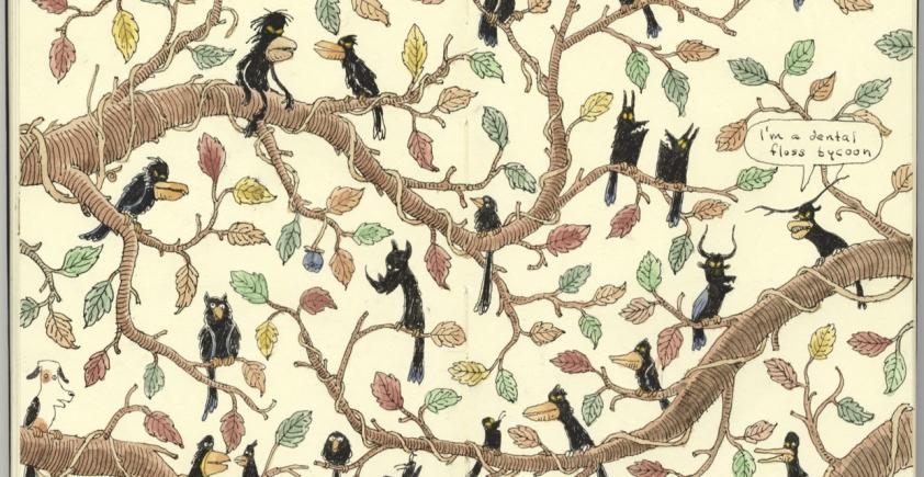Szczegółowe ilustracje Mattiasa Adolfsona