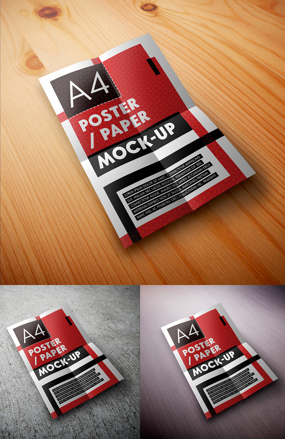 Mock-up – Poster A4