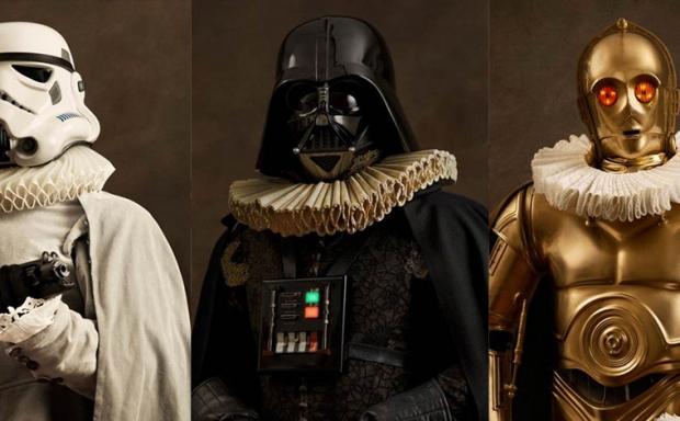 Flamandzkie portrety super bohaterów