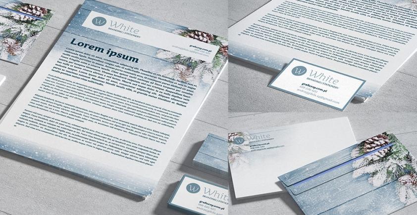 Mockup / Mała Identyfikacja / Small Branding – Stationery