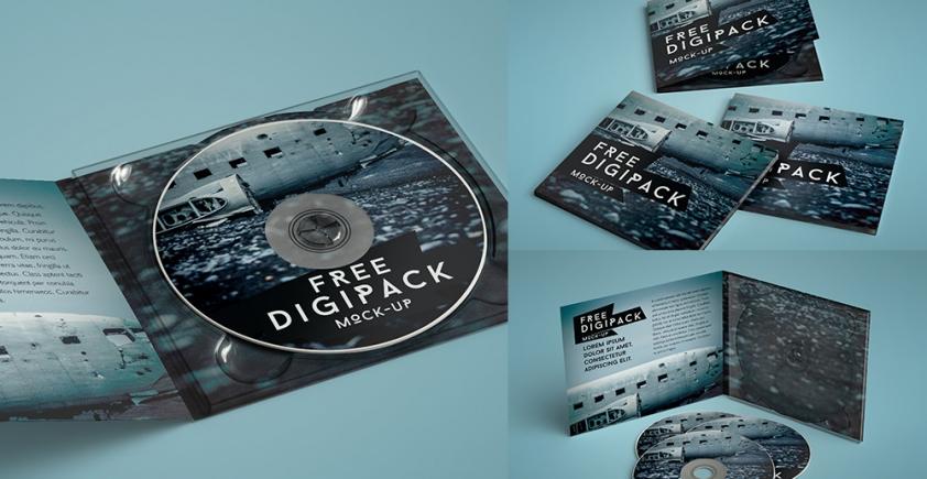 Mockup / Digipack