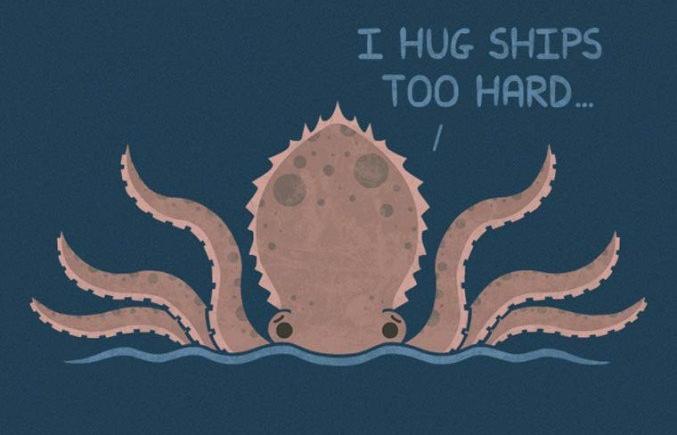 Ciężkie życie potworów – ilustracje Teo Zirnisa