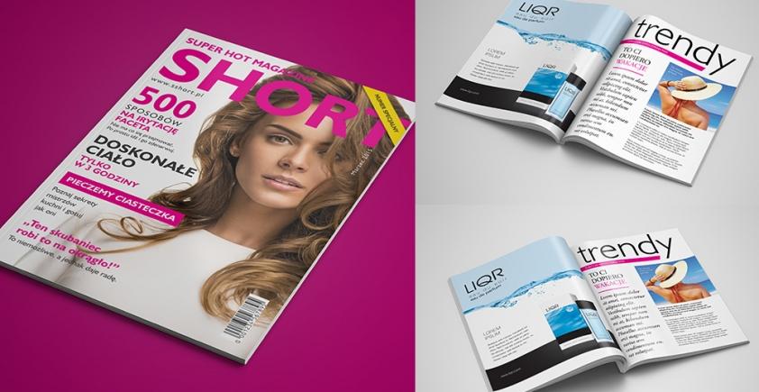 Mockup / Czasopismo / Magazine / A4