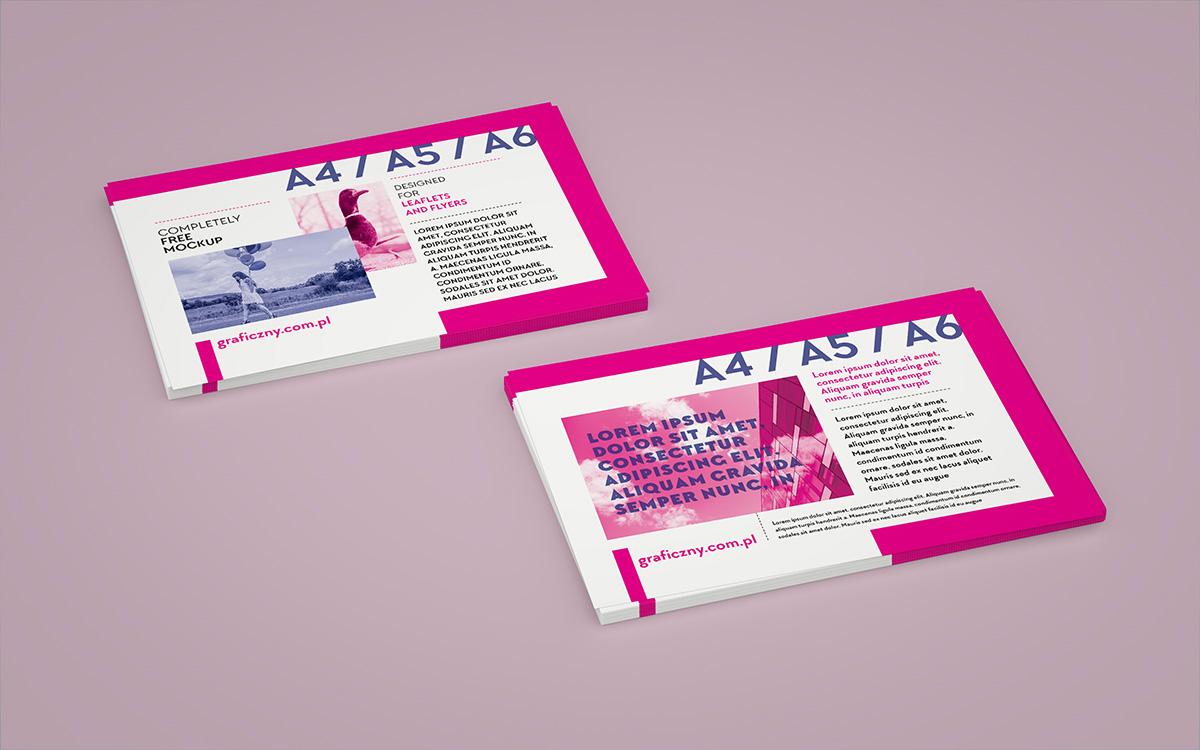 Leaflet Mockup