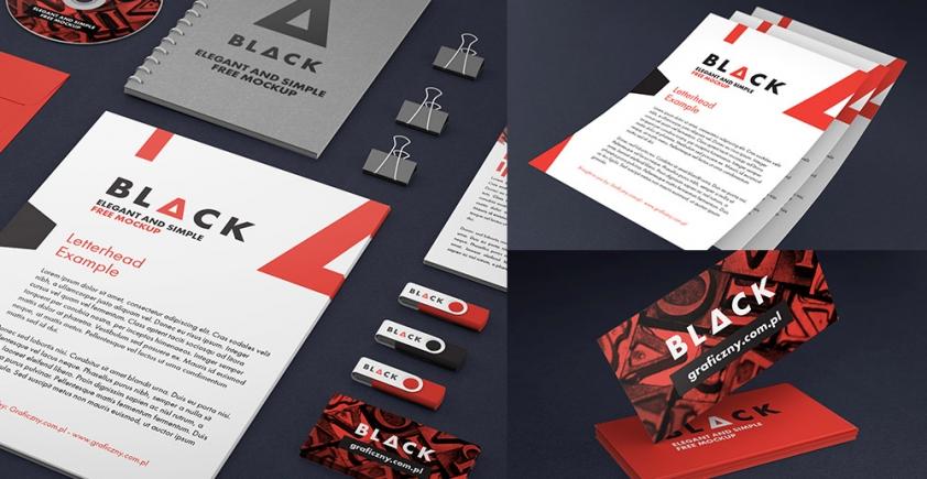 Mockup / Identyfikacja Wizualna / Corporate identity
