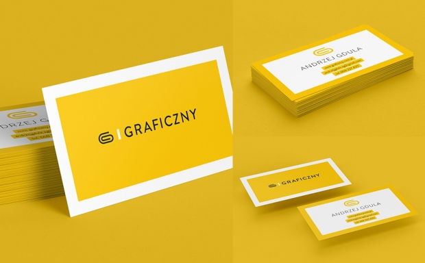 Mockup / Wizytówka / Business Card /90 x 50 mm