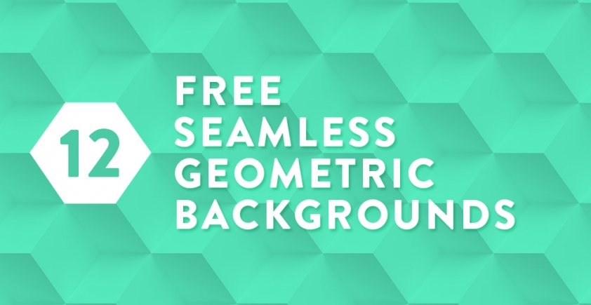 Geometryczne tła / Seamless geometric backgrounds / #2