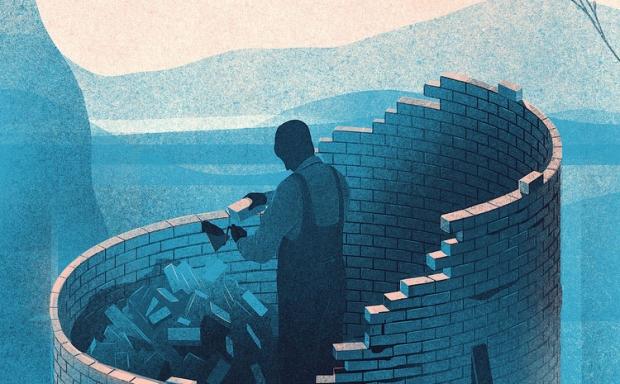 Ilustracje dające do myślenia – Karolis Strautniekas