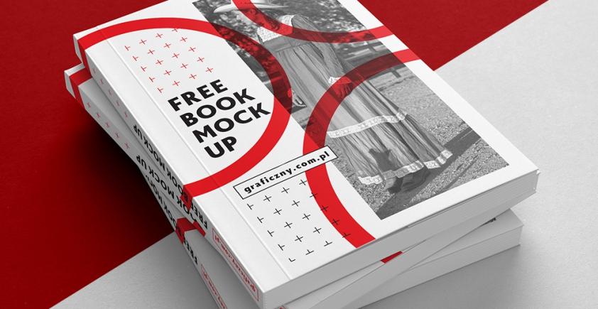 Mockup / Książka, broszura / Book, brochure