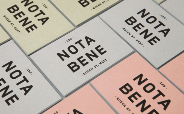 Identyfikacja restauracji Nota Bene