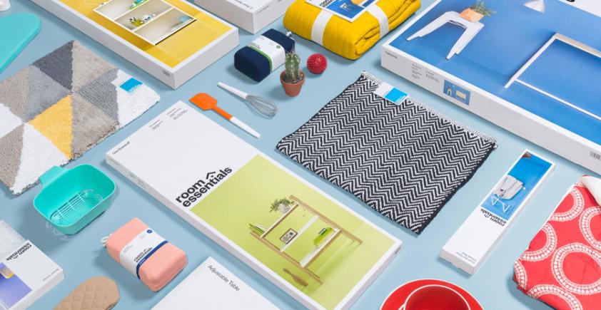 Opakowania / identyfikacja Room Essentials
