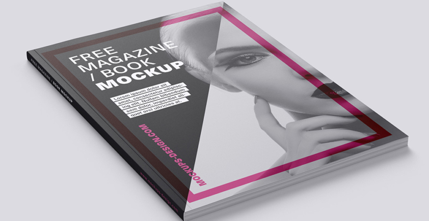 Mockup / Magazyn / Książka / Katalog