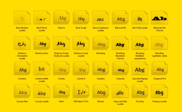 Budujemy kolekcję fontów – poradnik subiektywny