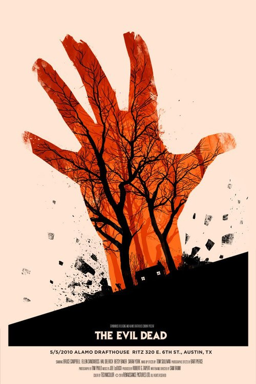 The-Evil-Dead-Screen-Print-by-Olly-Moss