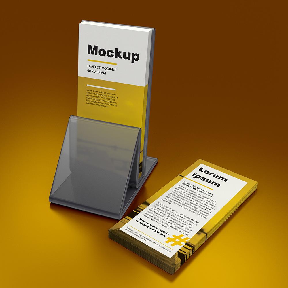 Leaflet DL Mockup