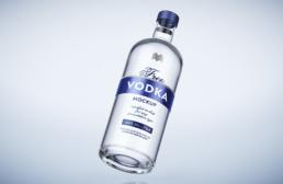 Wizualizacja 3D wódki