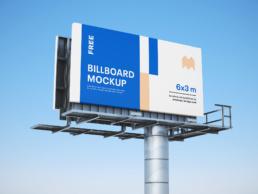 Mockup billboardu